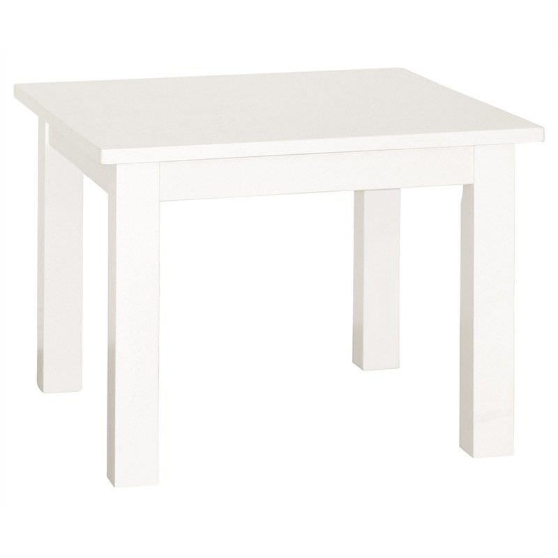 Adeline Solid Timber Lamp Table - White