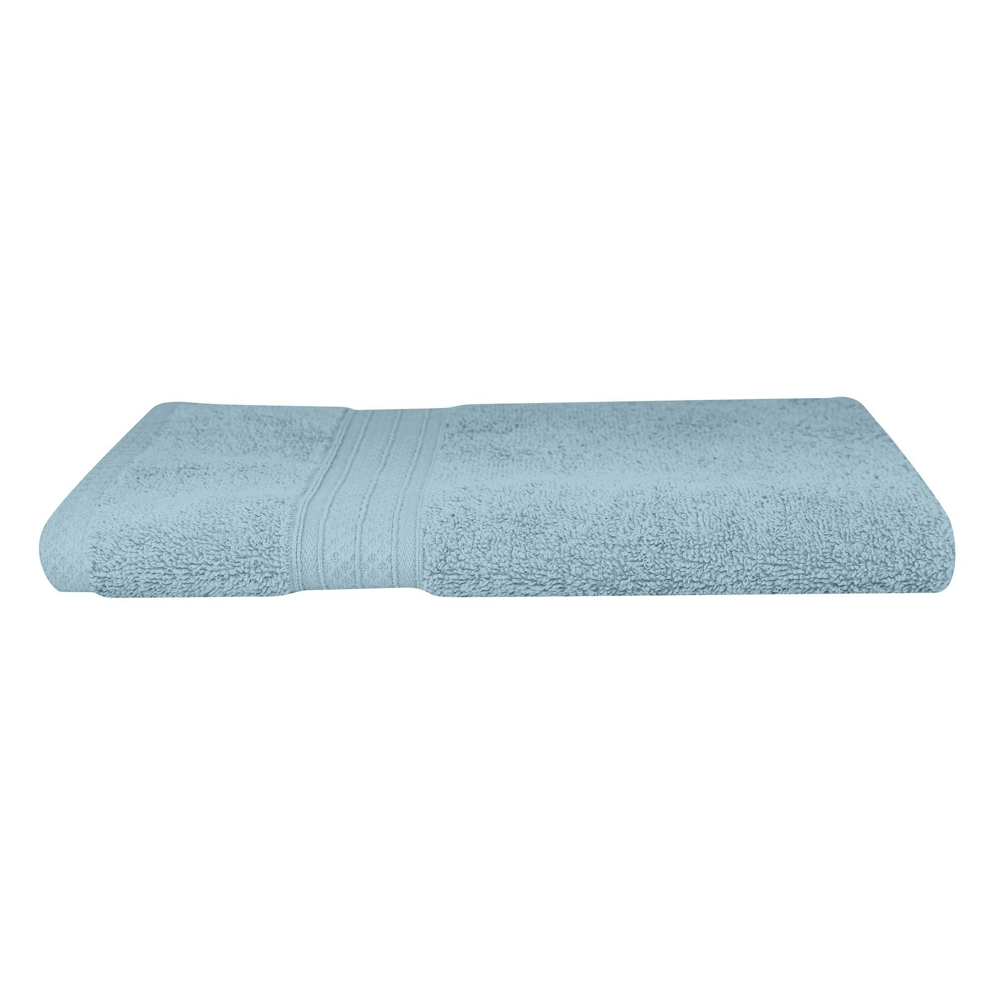 Odyssey Living Meridian Cotton Hand Towel, Cornflower Blue