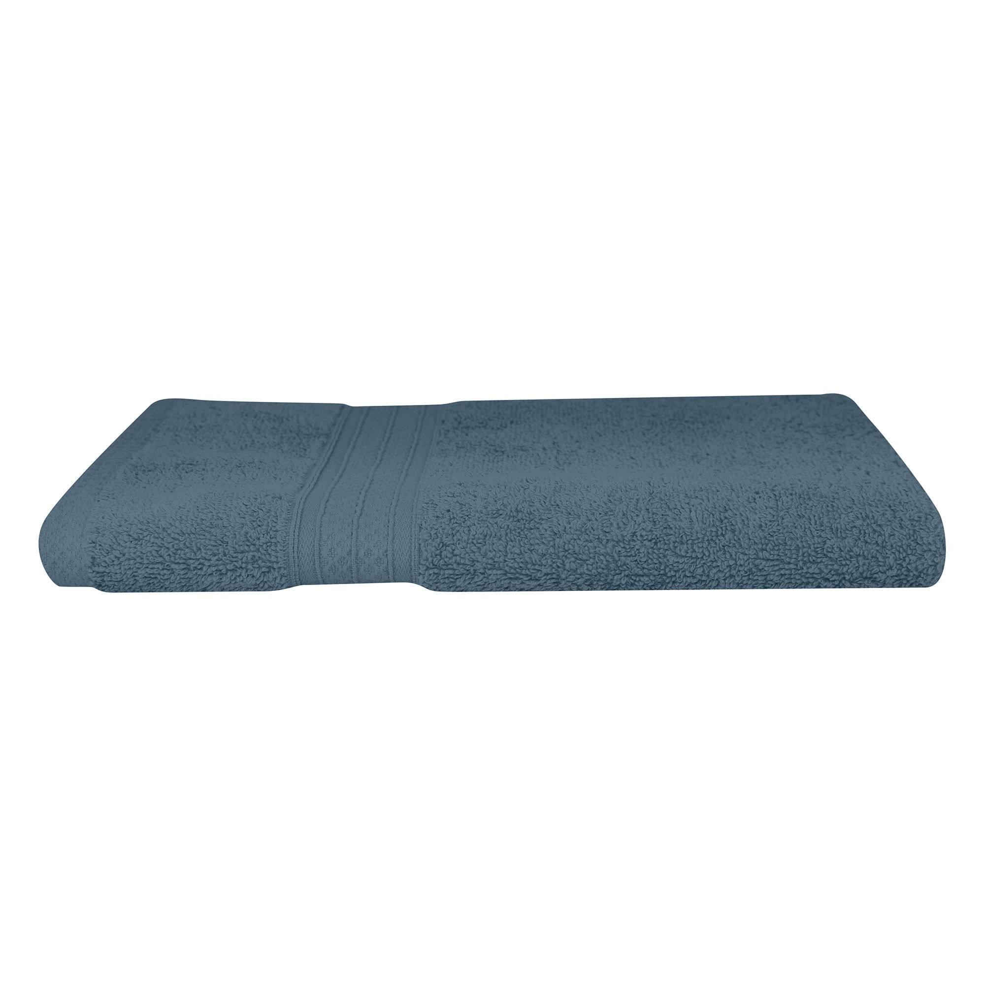 Odyssey Living Meridian Cotton Hand Towel, Denim