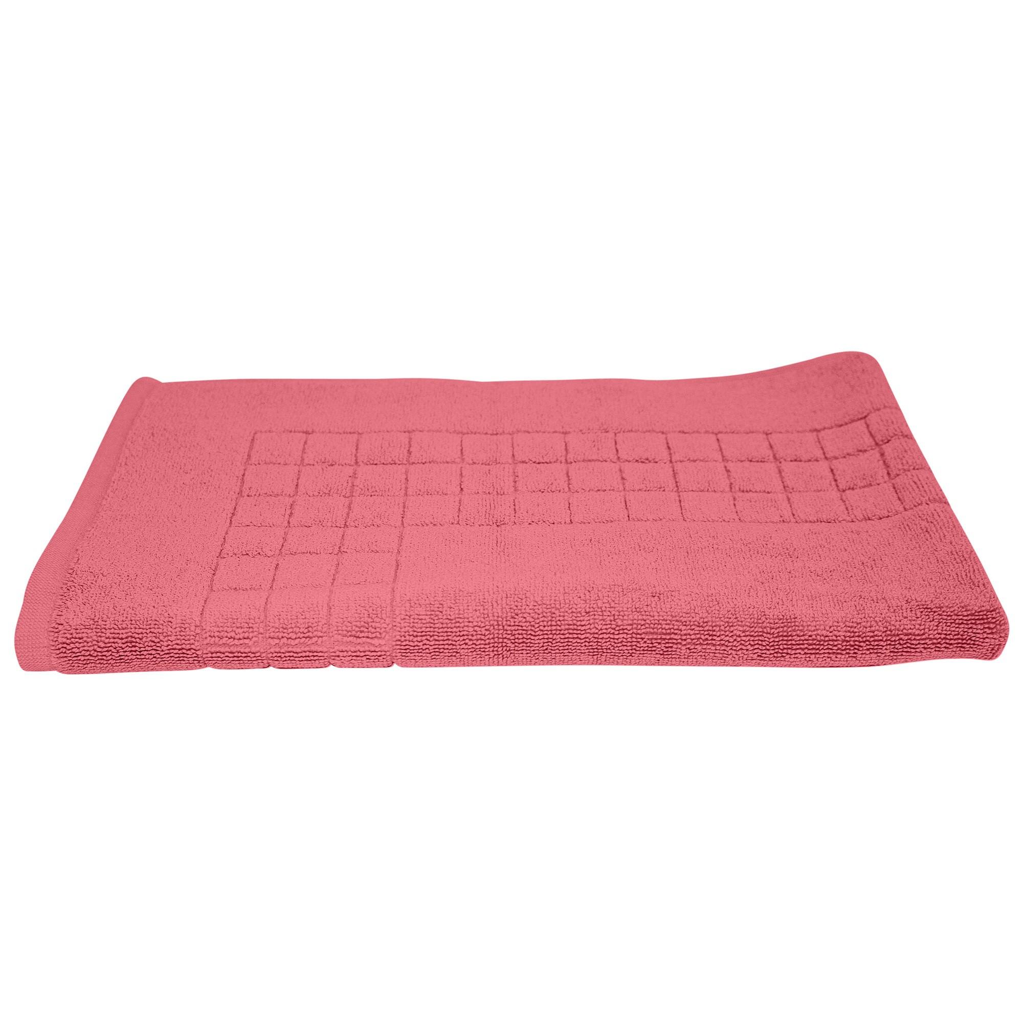 Odyssey Living Meridian Cotton Bath Mat, Desert Rose