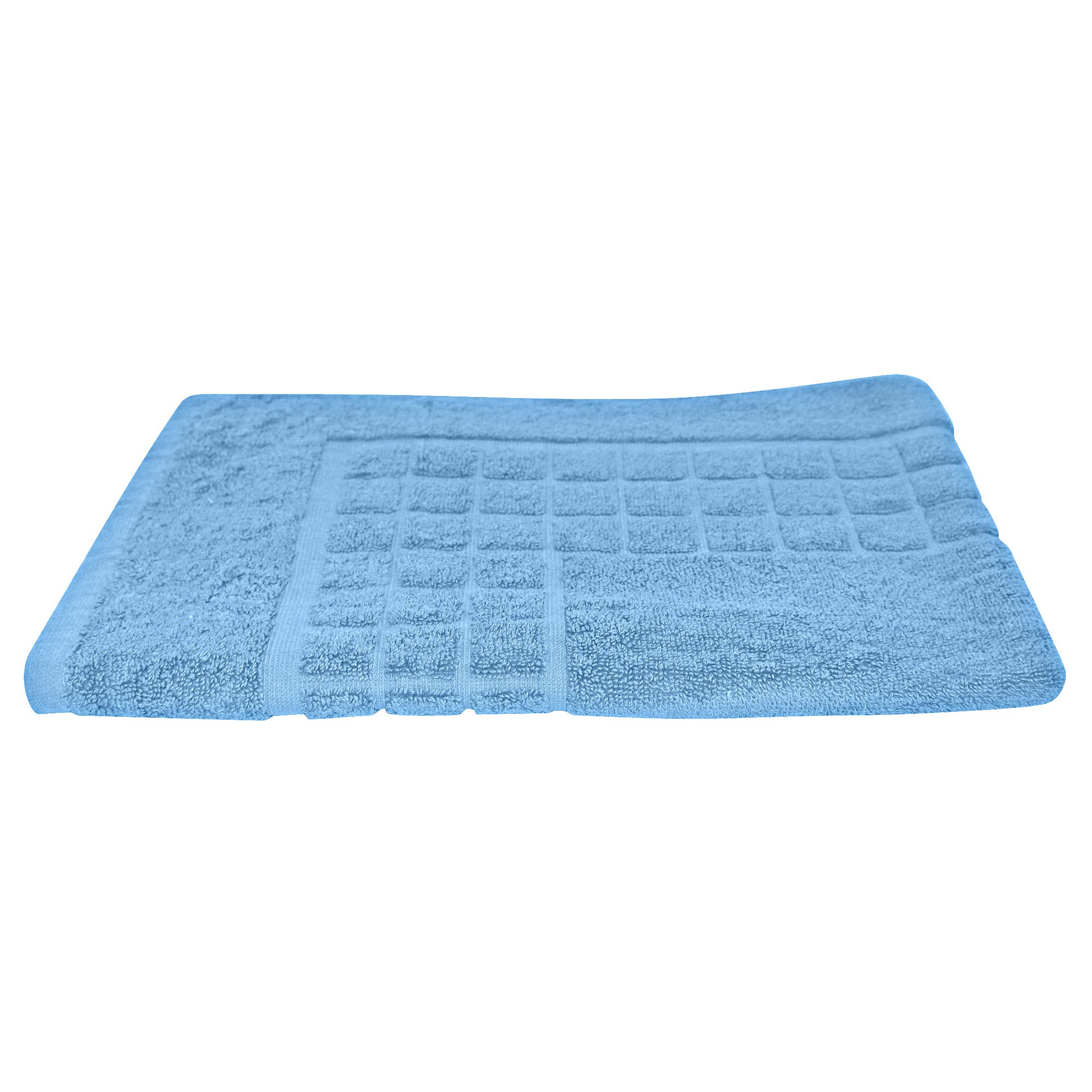 Odyssey Living Meridian Cotton Bath Mat, Bluejay