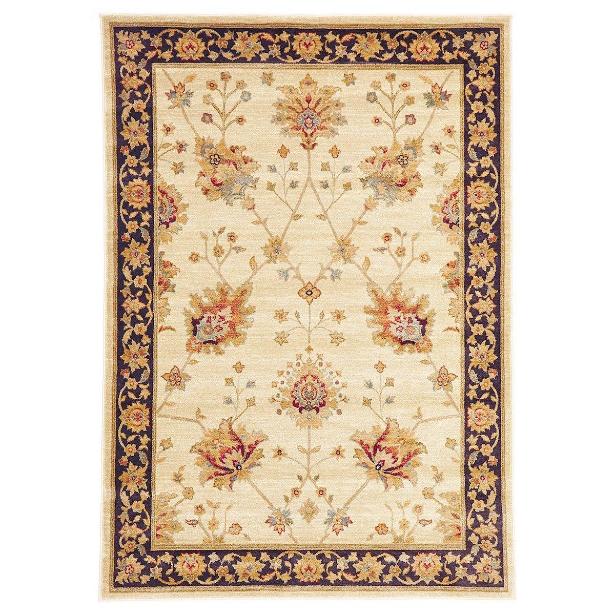 Byblos Classic Egyptian Made Oriental Rug, 330x240cm, Cream