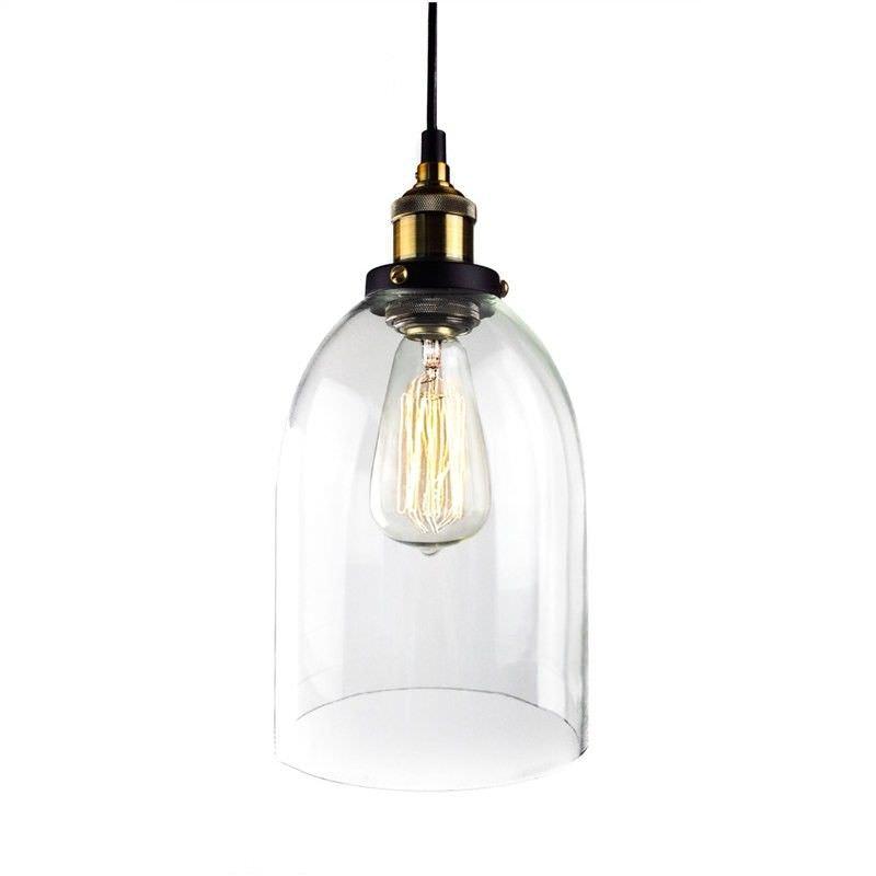 Bianka Glass Filament Pendant Light