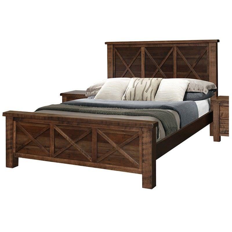 Paris Tassie Oak Queen Bed