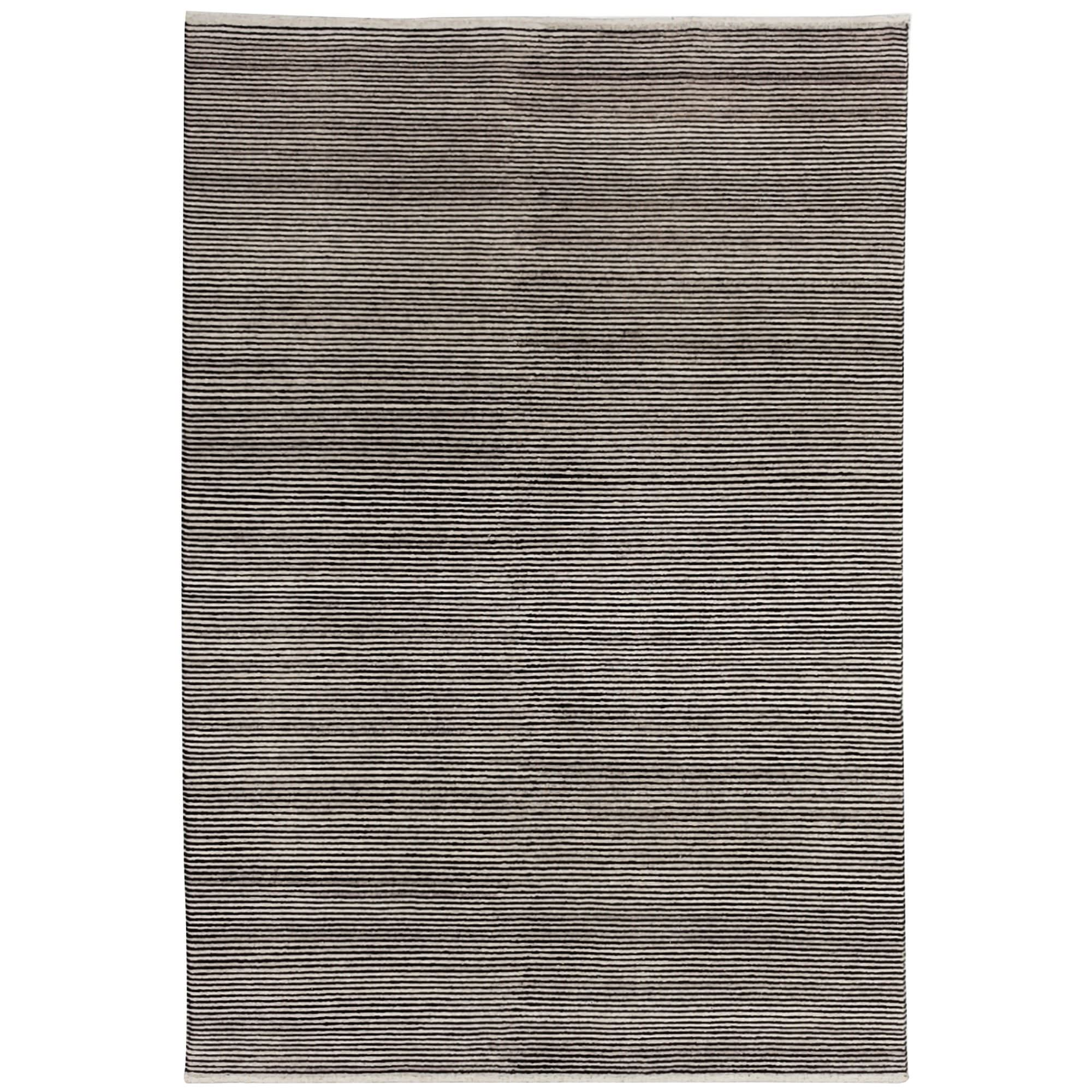 Boheme Hand Tufted Wool Rug, 160x230cm, Charcoal