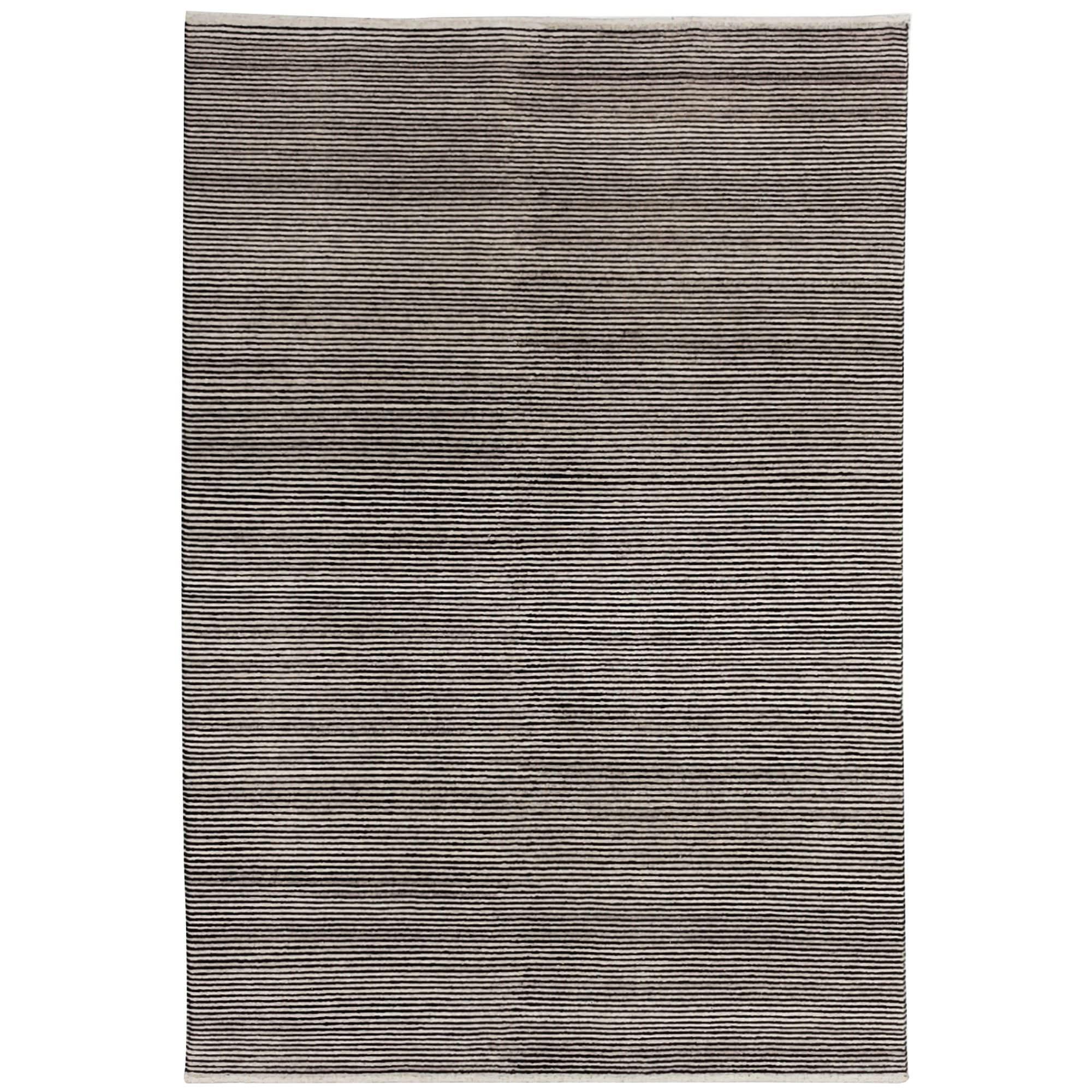 Boheme Hand Tufted Wool Rug, 200x300cm, Charcoal
