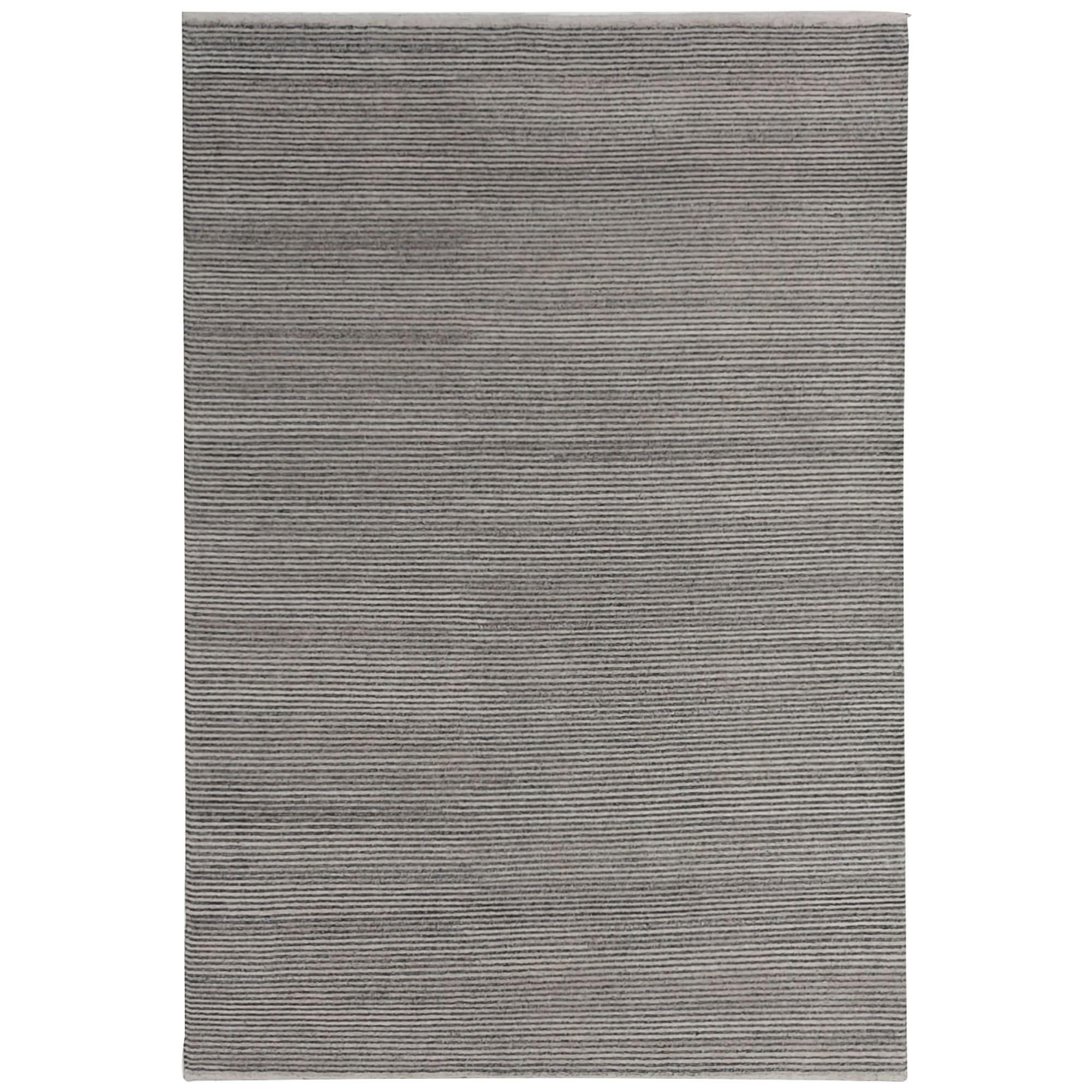 Boheme Hand Tufted Wool Rug, 350x450cm, Steel