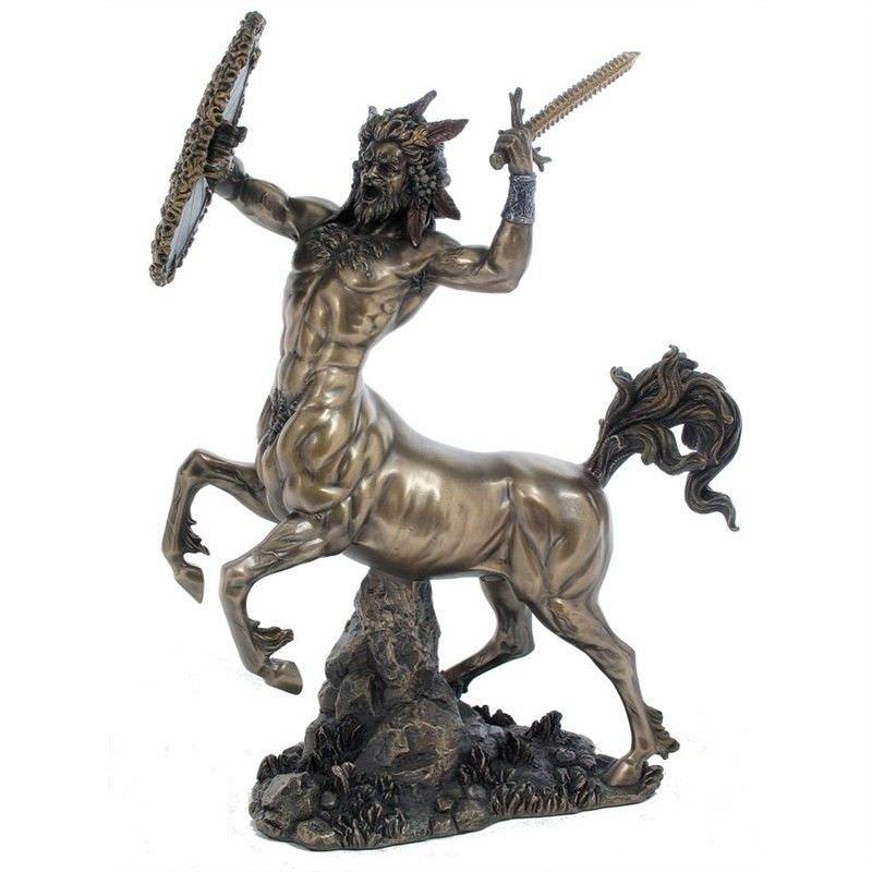 Cast Bronze Greek Mythology Figurine, Centaur