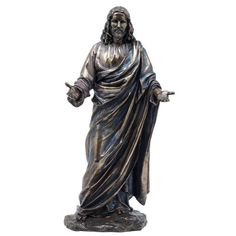 Cast Bronze Figurine of Jesus Christ