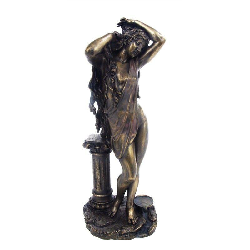 Cast Bronze Greek Mythology Figurine, Aphrodite