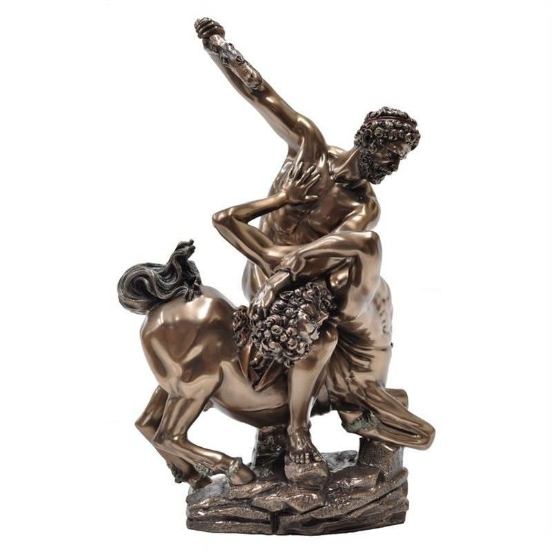 Cast Bronze Figurine of Giovanni Bologna's Hercules and Nessus
