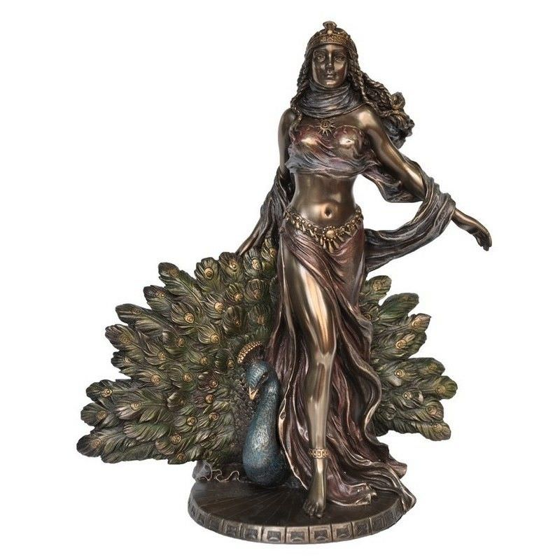 Cast Bronze Greek Mythology Figurine, Hera