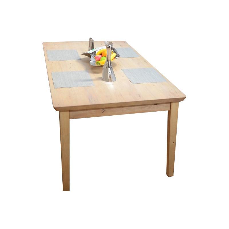 Girona Mountain Ash Timber Dining Table, 210cm