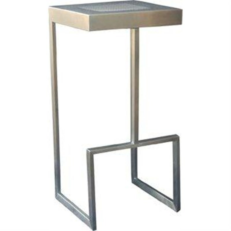 Zappa Stainless Barstool 304 Stainless Steel Frame and Seat Stainlesss Steel Frame