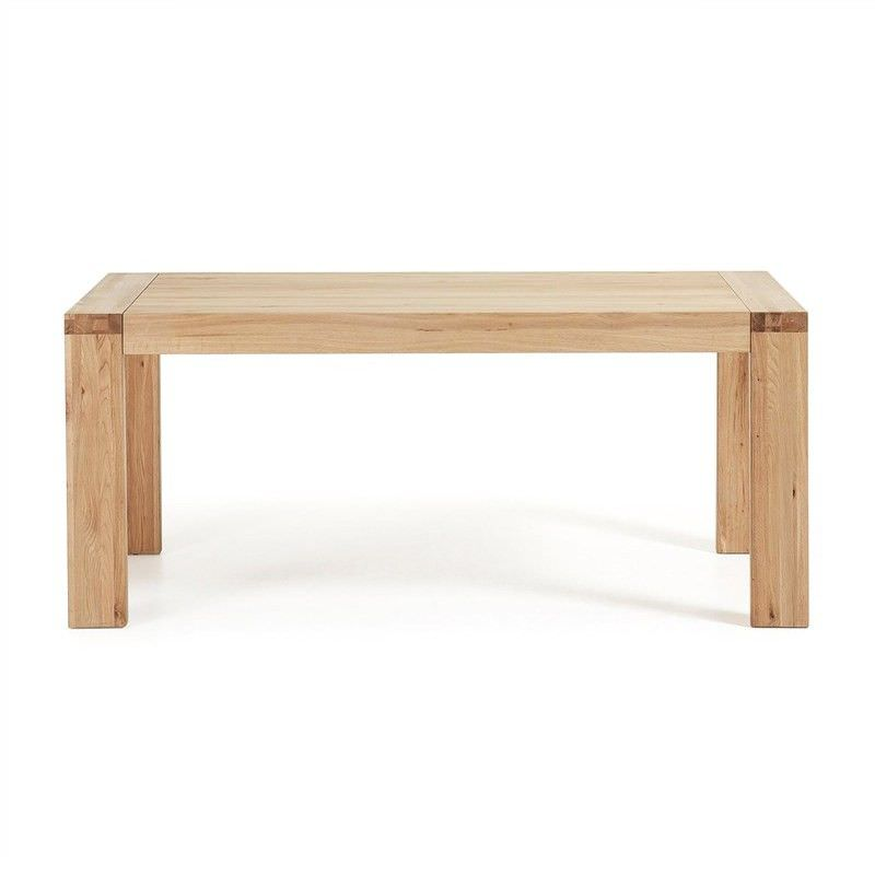 Orchid Solid Oak Timber 180-230cm Extendable Dining Table