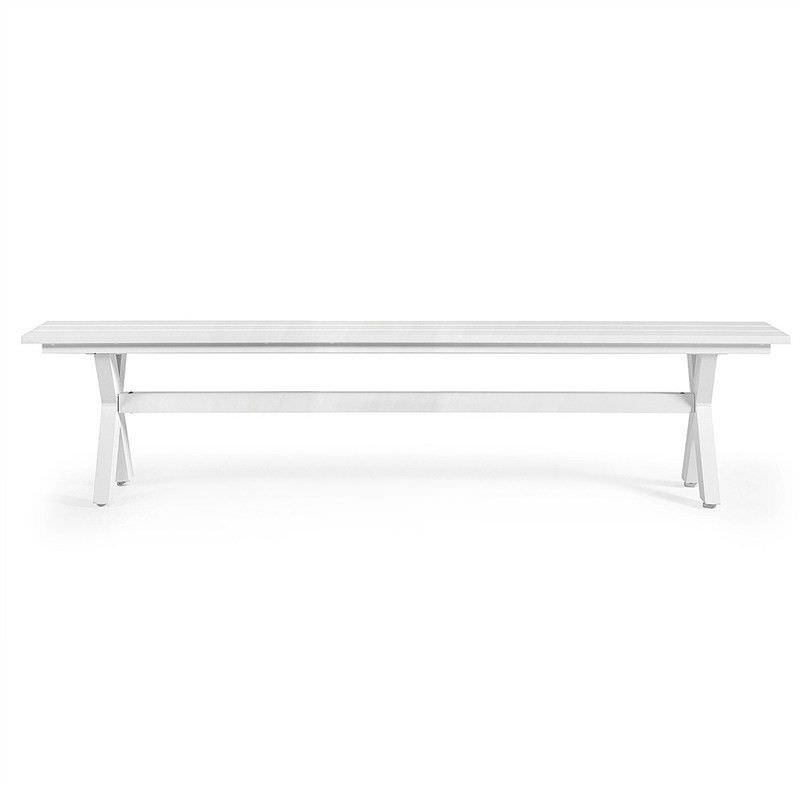 Colet Aluminium 240cm Indoor/Outdoor Dining Bench