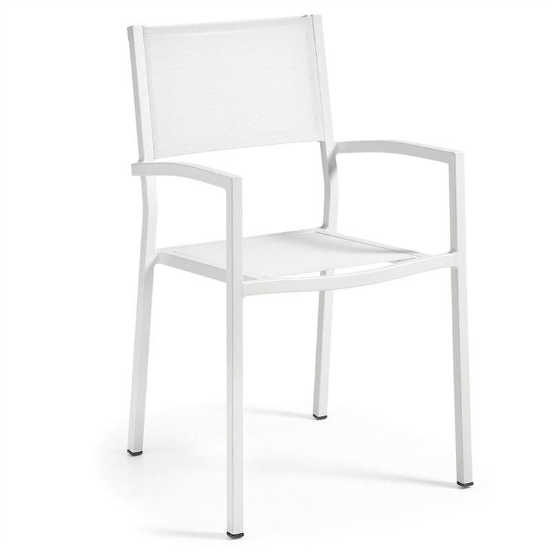 Fife Aluminium Indoor/Outdoor Dining Armchair