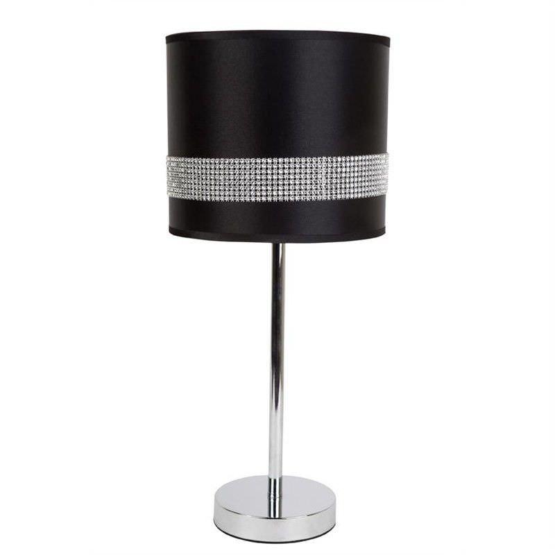 Alexia Table Lamp - Black