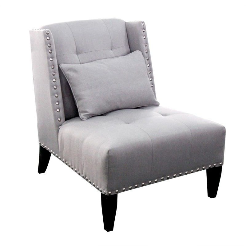Duke Arm Chair - Glacier Grey