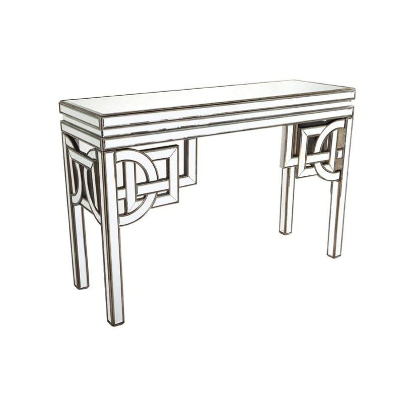 Rossano Mirrored 136cm Console Table