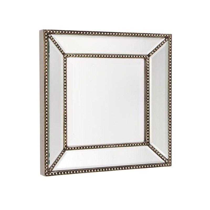 Zeta Square Wall Mirror, 38cm