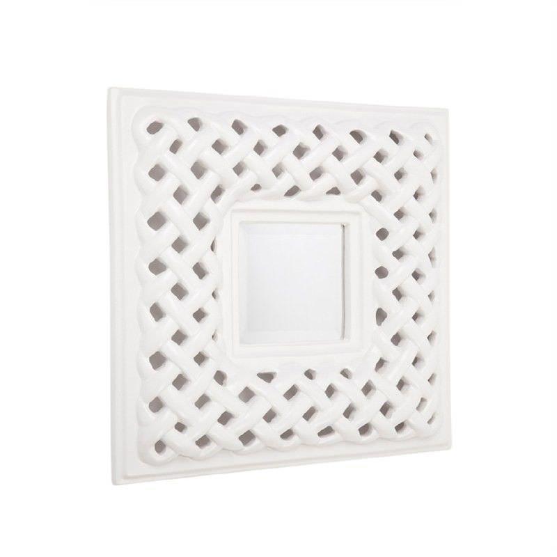 Nordic 60cm Square Wall Mirror