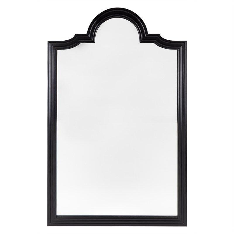 Rosemont Black Frame 203cm Floor Mirror