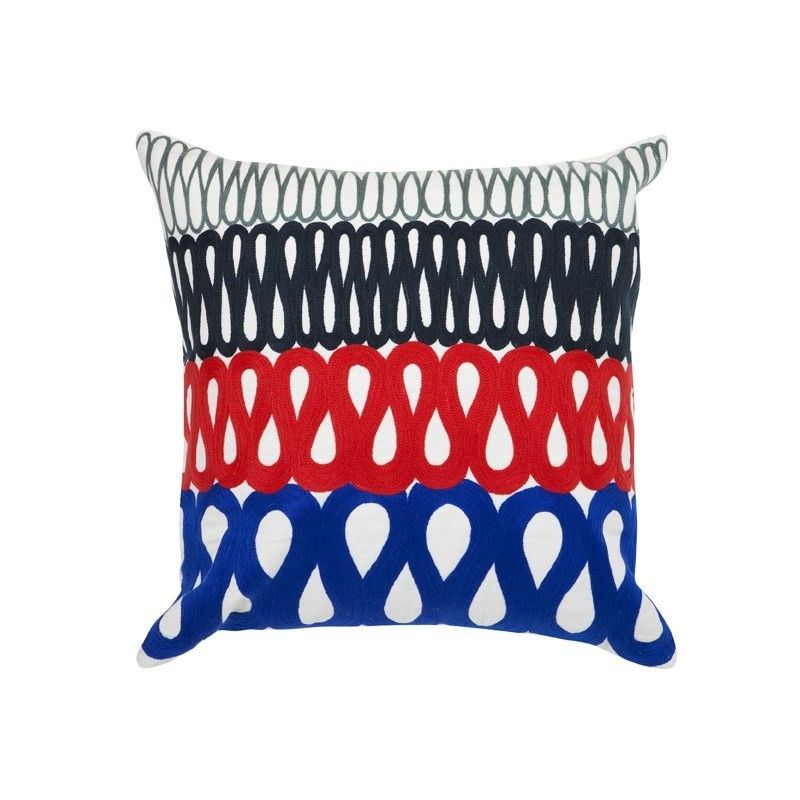 Martha Feather Filled Cotton Scatter Cushion