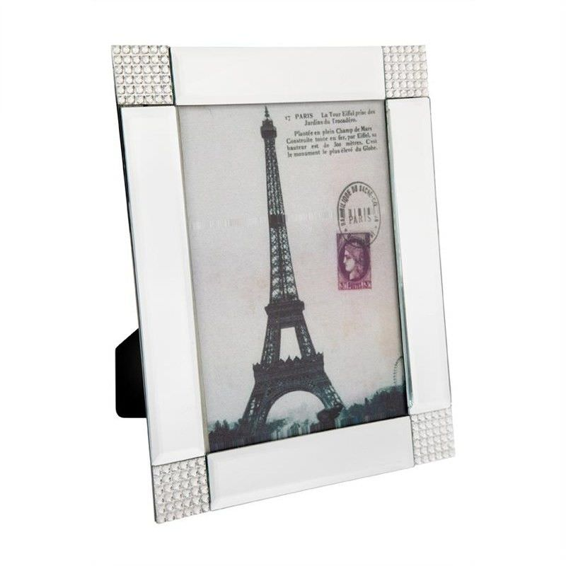 Lily Mirrored 5x7 Inch Photo Frame
