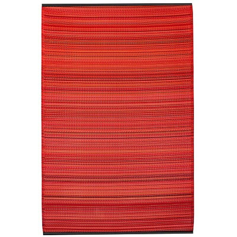 Cancun 150x238cm Reversible Outdoor Rug - Sunset