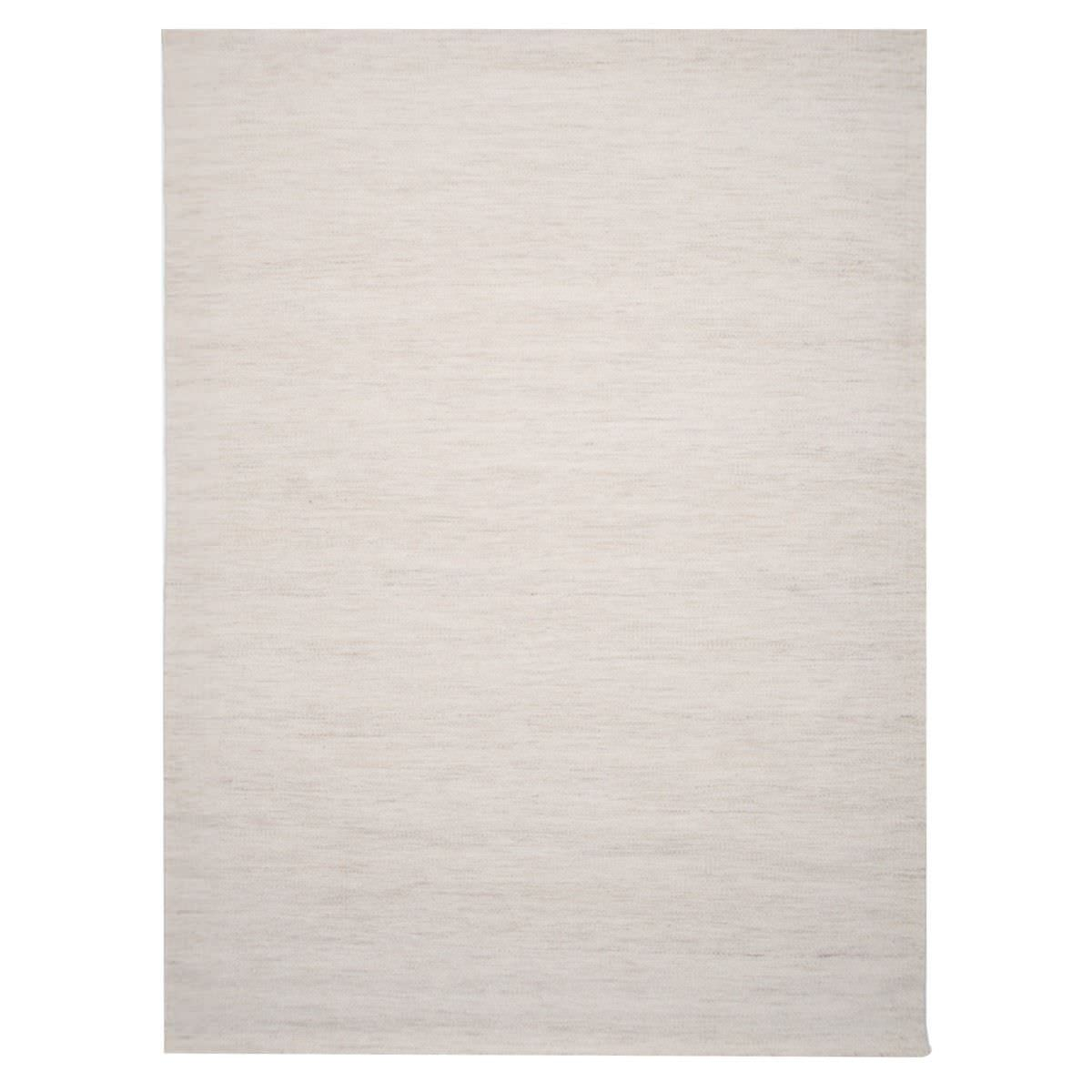 Capri Handwoven Wool Rug, 220x160cm, Natural