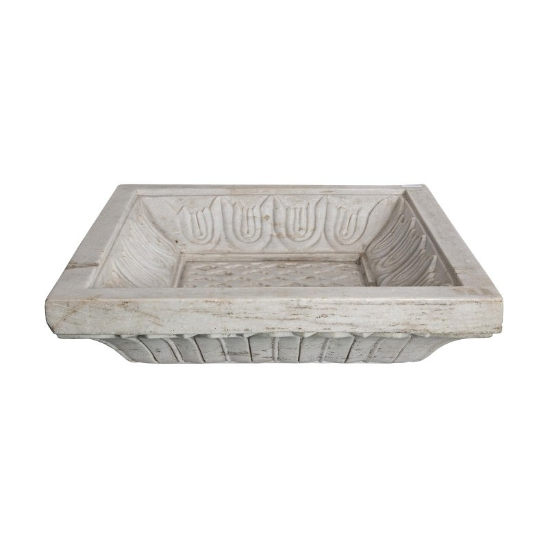 Mccoy Marble Square Decor Plate
