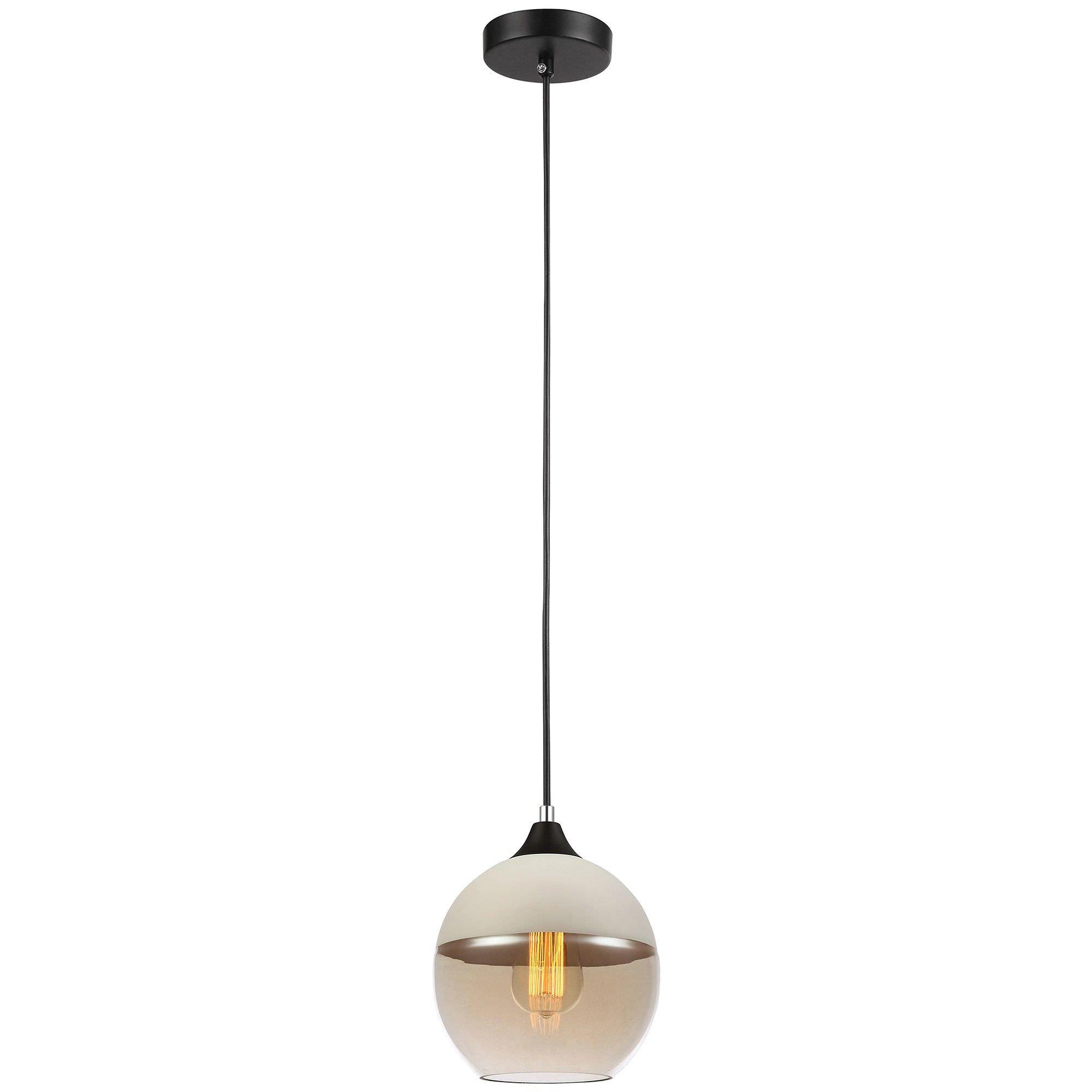 Casa Glass Pendant Light, Ball