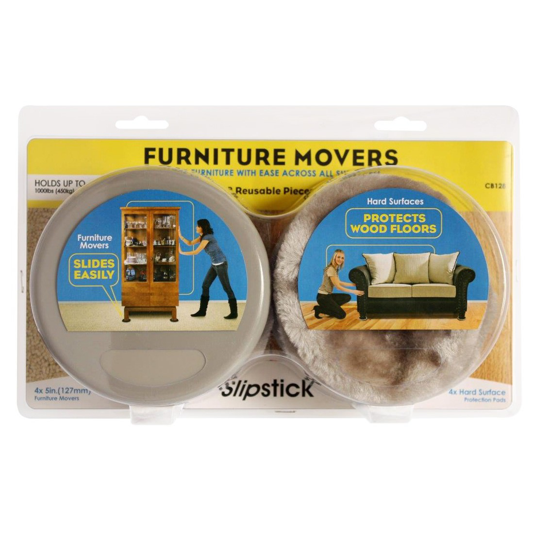 Slipstick Furniture Movers, Set of 4