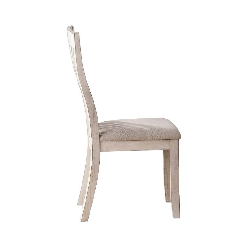 Bega Timber Dining Chair with Fabric Seat