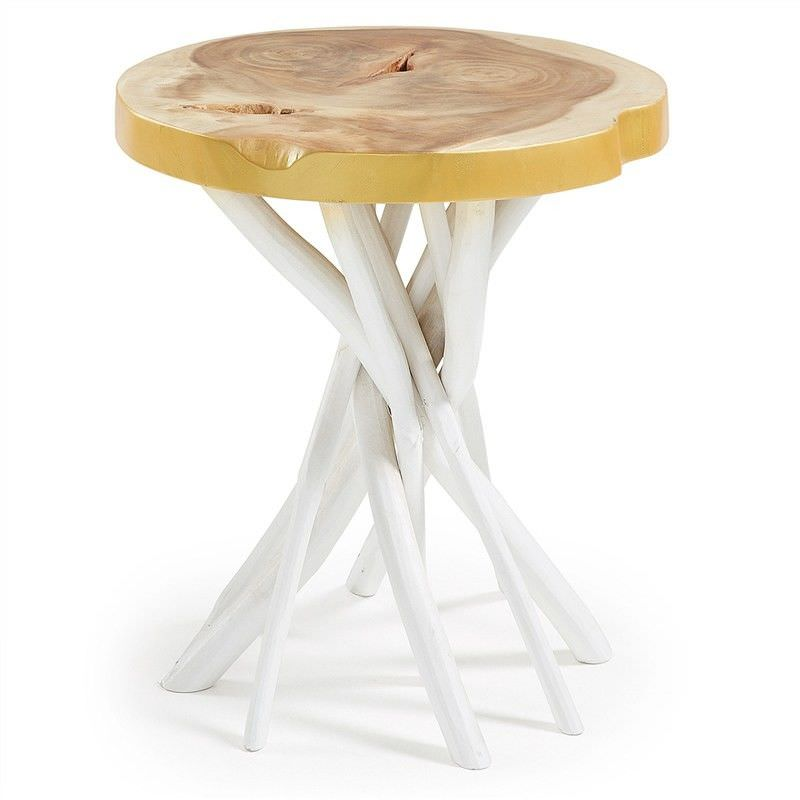 Lilian Solid Timber Side Table