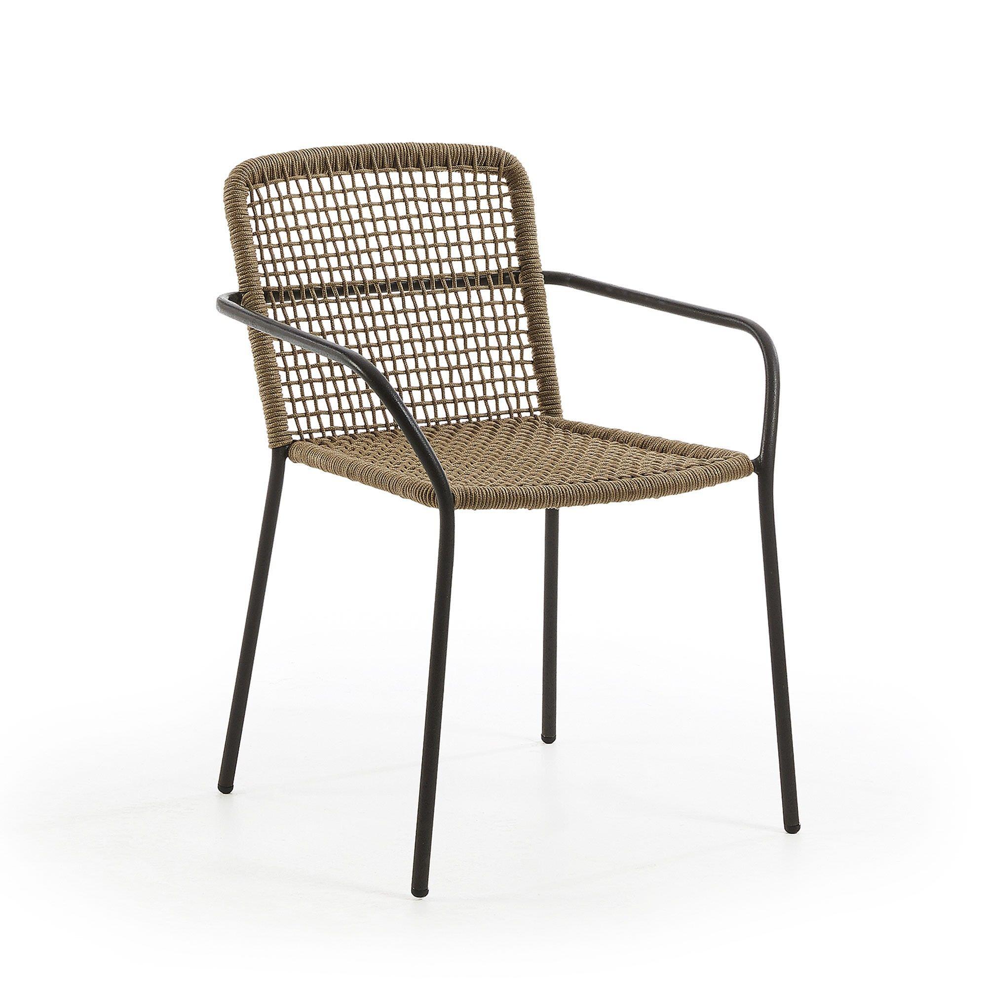 Breeze Indoor / Outdoor Dining Armchair, Khaki