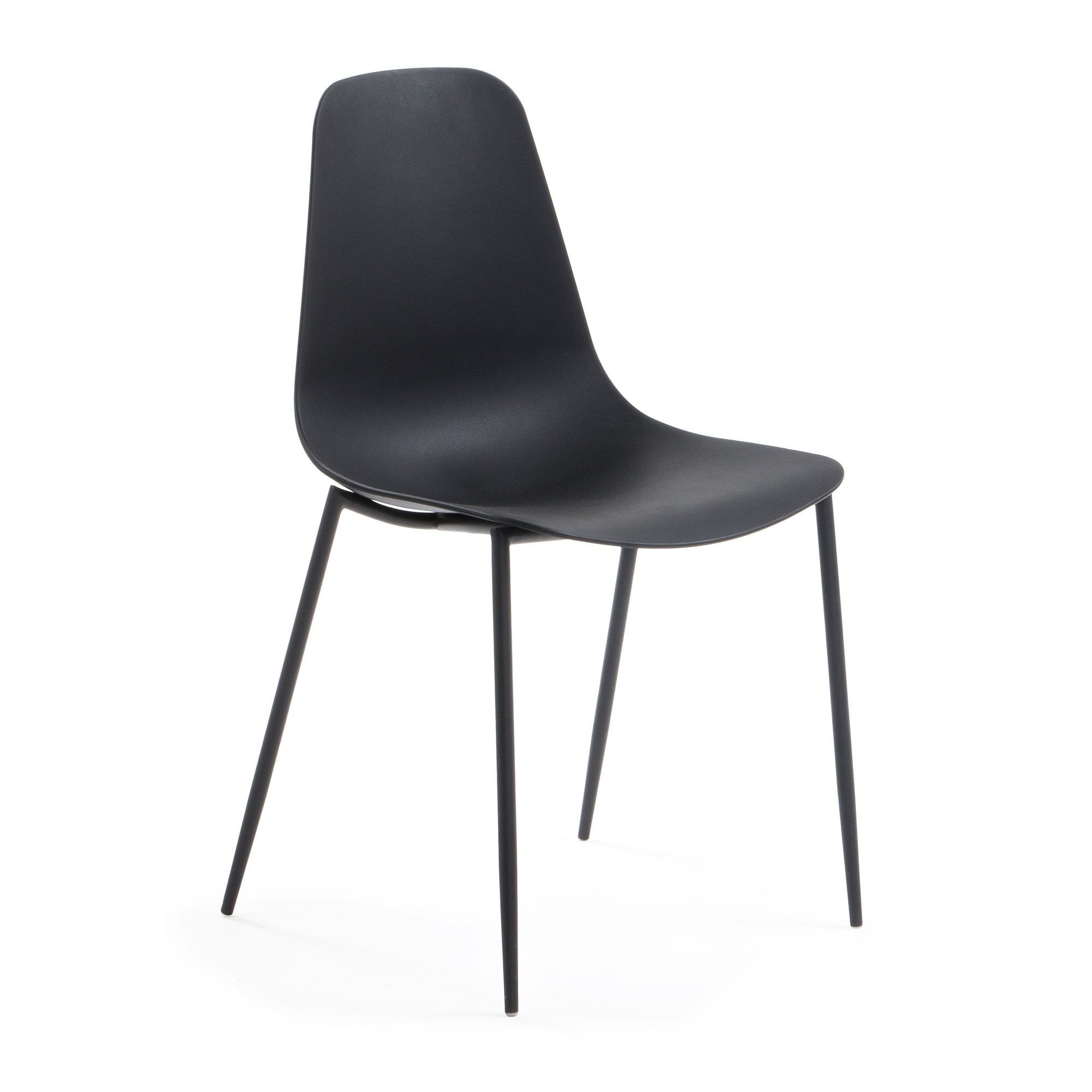 Wynifred Dining Chair, Black
