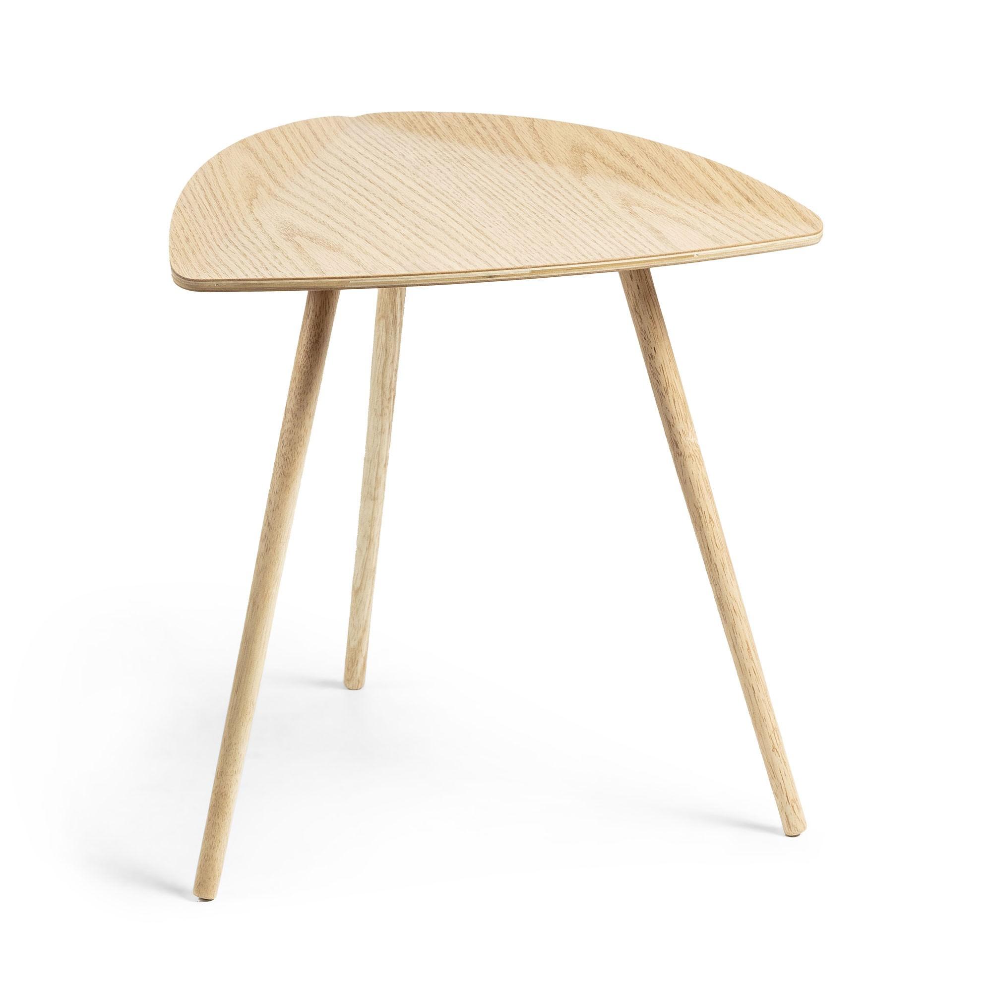 Cindy Wooden Side Table, Oak