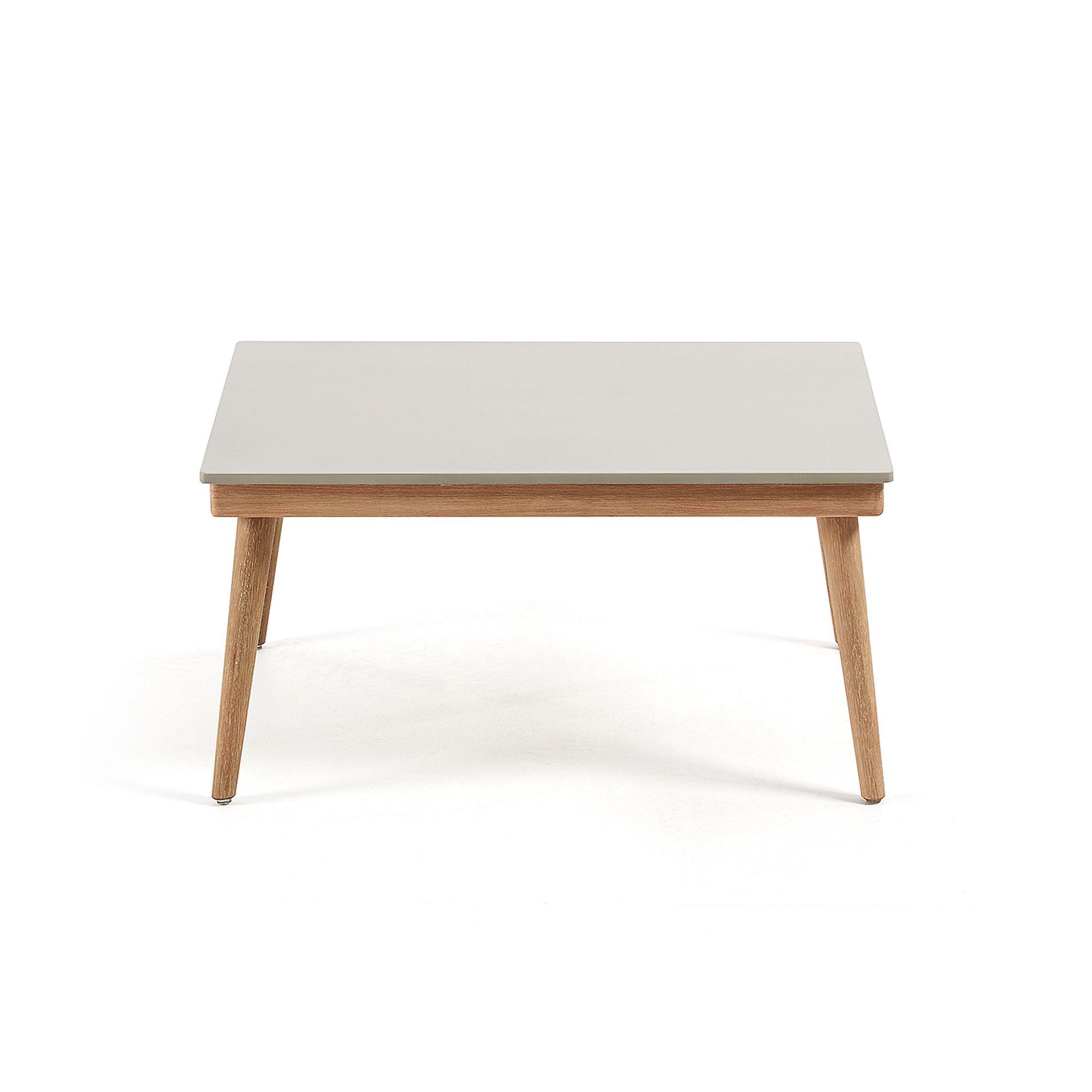 Horwood Eucalyptus Timber Indoor / Outdoor Coffee Table, 80cm