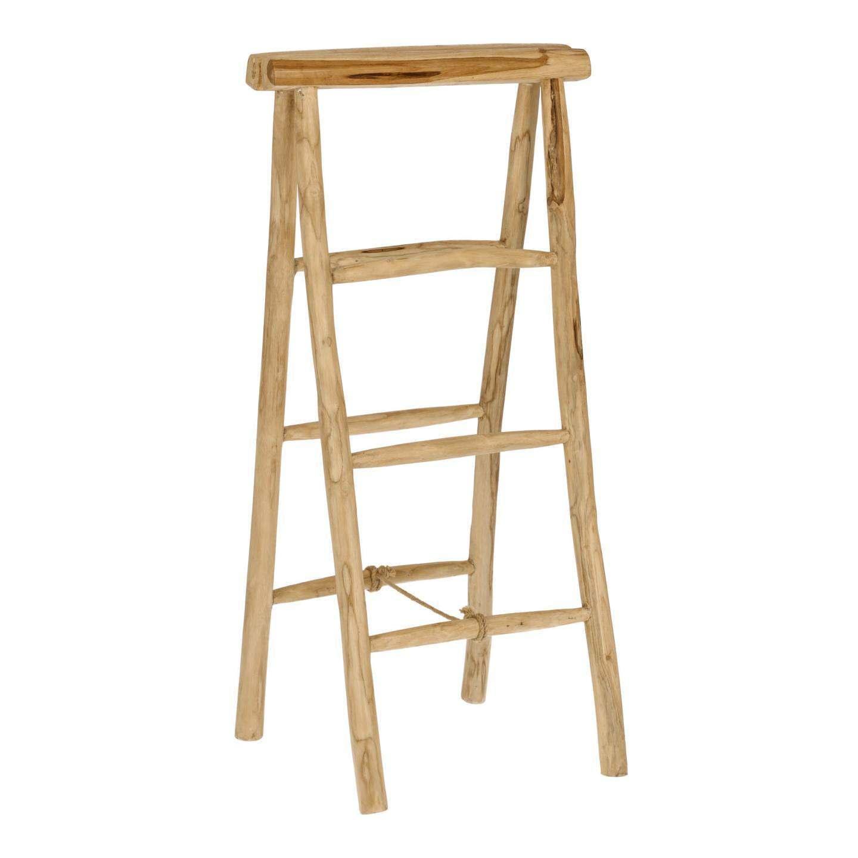Orini Teak Timber Ladder Towel Rail