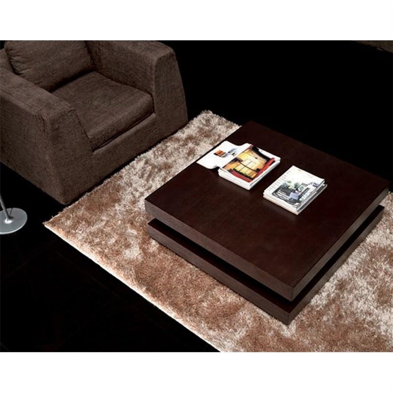 Pazo Coffee Table - Chocolate Brown