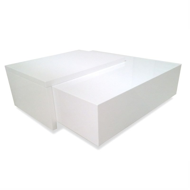 Enzo Coffee Table White Gloss