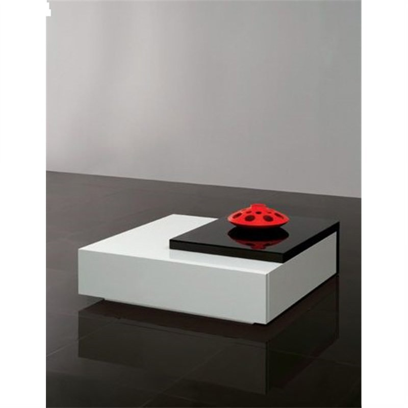 Enzo Coffee Table Black and White