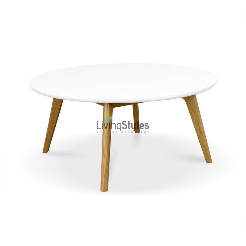Furuvengen 90cm Round Coffee Table
