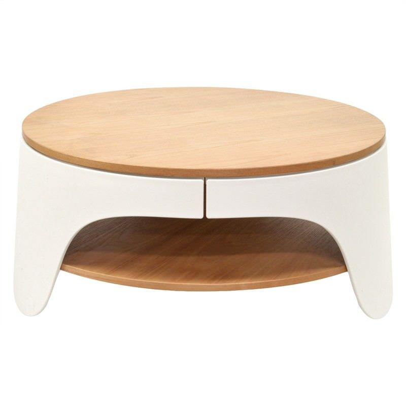 Jacca 82cm Round Coffee Table