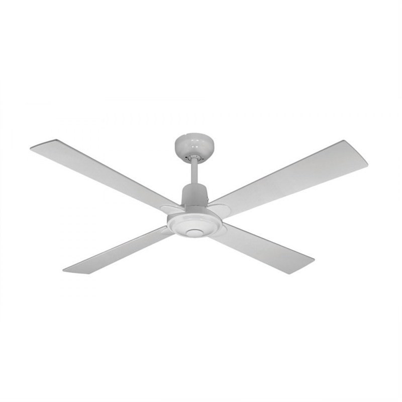 Martec Four Seasons Alpha 4 Plywood Blade Ceiling Fan (CFW124) in White