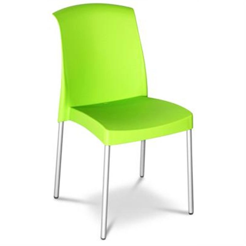 Jenny Chair in Green (set of 2) Commercial Grade