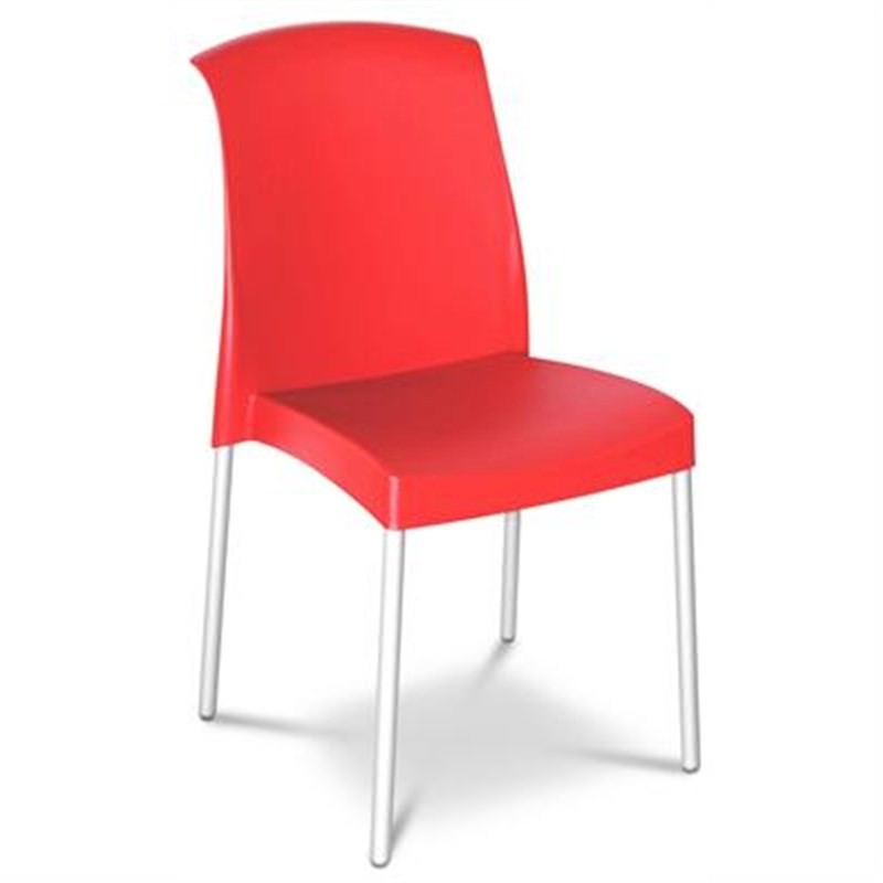 Jenny Set of 2 Commercial Grade Chairs - Red