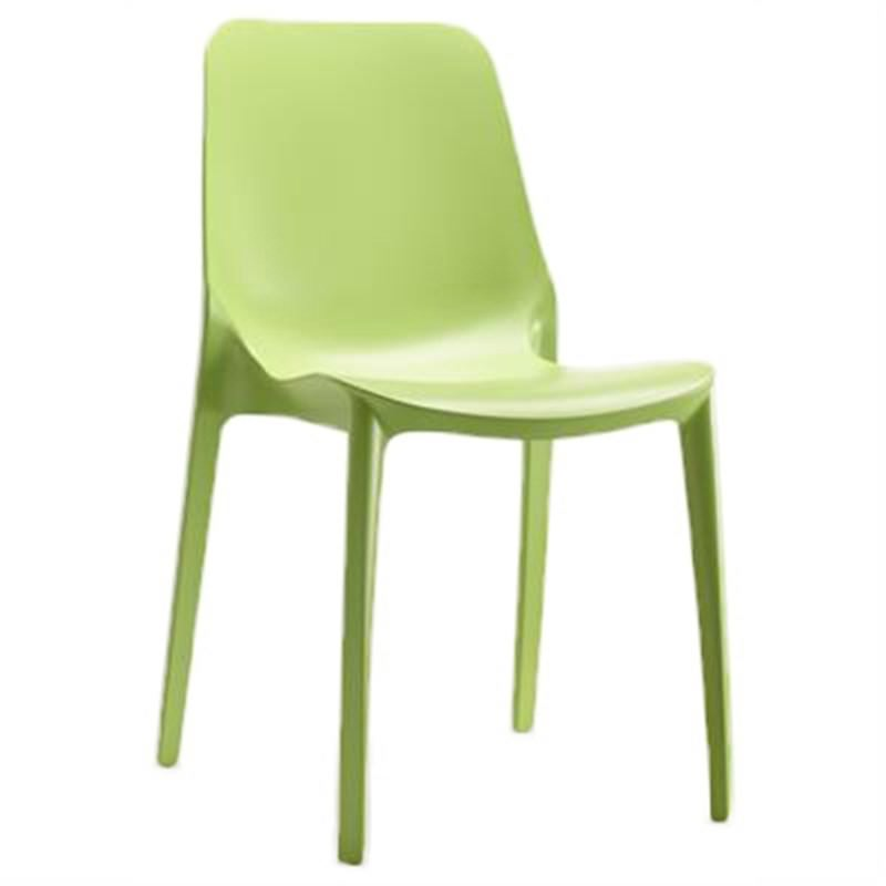 Ginevra Italian Made Commercial Grade Outdoor Side Chair - Green